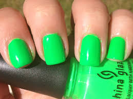 my favorite man nails oh and some neon green polish polish me