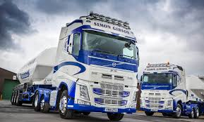 new volvo tractor simon gibson transport u0027bulk up u0027 with more new volvo fh tractor