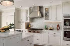 Chic White Kitchen Backsplash Ideas Tile Backsplash And White - White kitchen backsplash ideas