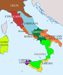 Italy Region Map by Samnium Wikipedia
