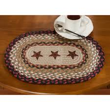 Fruit Rugs Barn Star Jute Placemat Sturbridge Yankee Workshop
