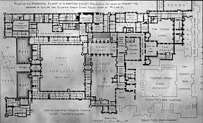 Palace Floor Plans by File Architectural Plans For Hampton Court Palace England