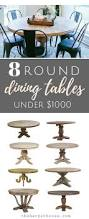 Dining Room Tables On Sale by Best 20 Round Dining Tables Ideas On Pinterest Round Dining