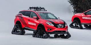 nissan 370z in winter 2016 nissan murano winter warrior vehicles on display