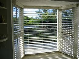 treatments for bay window blinds