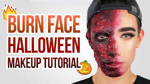 easy burn special fx halloween makeup tutorial jcharlesbeauty