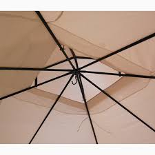 Replacement Canopy Covers by Ultra Grade Bamboo Look Gaz Replacement Canopy Garden Winds