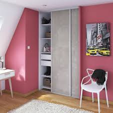claustra bureau amovible nez de cloison à peindre spaceo h 260 x l 12 cm leroy merlin
