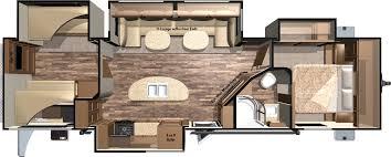 Fifth Wheel Bunkhouse Floor Plans 2016 Mesa Ridge Travel Trailers By Highland Ridge Rv