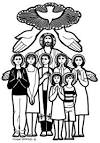 Sacrament of Confirmation Clipart
