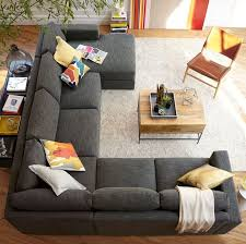 Leather Sofa Chaise by Best 25 Sectional Sofa Layout Ideas Only On Pinterest Family