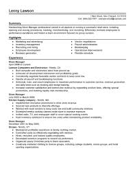 Resume Retail Template Retail Manager Cv Template Assistant Retail Manager Marketing