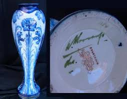 William Moorcroft Florian Ware Vase - william-moorcroft-florian-ware-vase-21300323