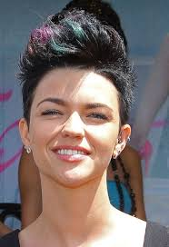 Fohawk Hairstyles Celebrity Faux Hawk Haircut For Women Hairstyles Weekly