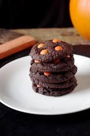 soft u0026 chewy chocolate halloween cookies