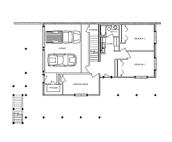 backyard rustic mountain house floor plan with walkout basement