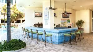 wet bar doubletree ocean point resort and spa