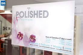 polished opens new nail salons the royal gazette bermuda local