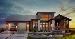 tesla announces its new solar roof