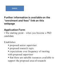PhD PROPOSAL AND SUPERVISORY AGREEMENT FORM Further information is available on the PhD Proposal and Supervisory