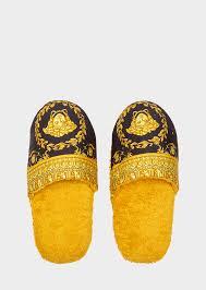 versace home luxury slippers uk online store