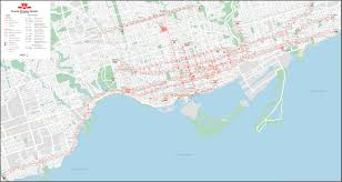 Canada Rail Map by Ttc Track Diagrams Transit Toronto Content