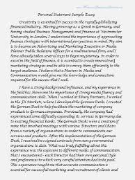 reflection essay format