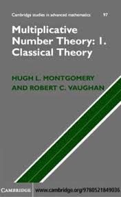 multiplicative number theory i classical theory cambridge