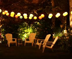 outdoor lighting decor outdoor lighting on summer nights