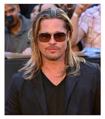 mens long hair manage together with famous men straight blonde