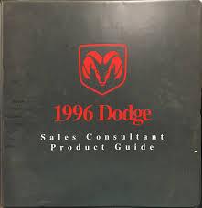 1996 dodge dakota repair shop manual original