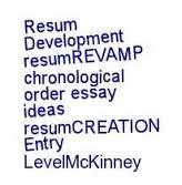 A chronological order essay FC