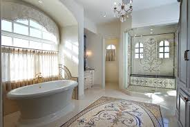 Entrancing  Mosaic Tile Bathroom Design Design Decoration Of - New bathrooms designs