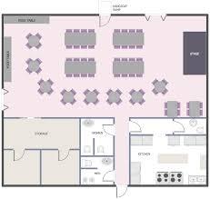 Room Floor Plan Free Cafe And Restaurant Floor Plan Solution Conceptdraw Com