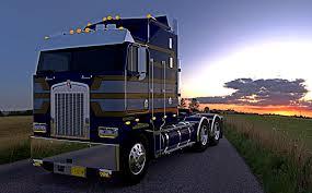 kenworth semi trucks cabover trucks trucksim org