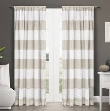 108 Inch Long Blackout Curtains by Amazon Com Exclusive Home Curtains Darma Linen Sheer Rod Pocket