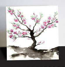 japanese cherry blossom wall art shenra com