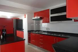 30 modern open kitchen ideas 4947 baytownkitchen stunning modern open kitchen design with red cabinet as well black granite countertop backsplash along with