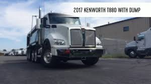 kenworth vin numbers 2017 kenworth t880 dump truck hd youtube