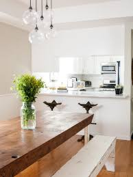 Kitchen Pendent Lighting by Unique Kitchen Pendant Lighting Above Marble Dining Table And