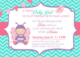 Baby Shower Invitation Cards Templates Butterfly Baby Shower Invitations Theruntime Com