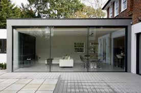 house exterior sliding glass doors with white blinds door loversiq