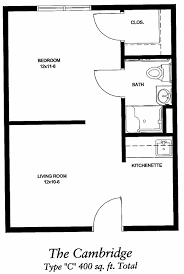 Single Bedroom Apartment Floor Plans by Download Apartment Square Feet Buybrinkhomes Com