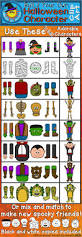 halloween characters clipart 45 best clip art by deeder do images on pinterest clip art