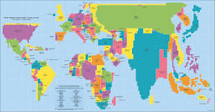 Pictures Of World Map by This Is What A World Map Looks Like When Scaled According To