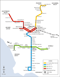 Canada Rail Map by The Light Rail Conundrum From Los Angeles To Atlanta Lrt In The