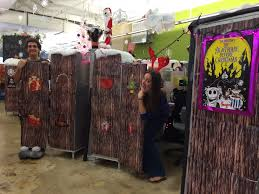 the doors of the holidays from the forest in