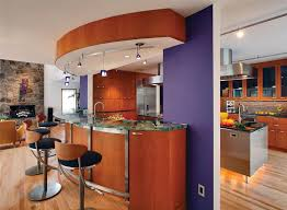 kitchen small apartment open kitchen design table accents range
