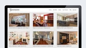 Interior Designer Website by Interior Design Website Design For Stonington Cabinetry Trillion