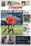 Newspaper L'Equipe (France). Newspapers in France. Saturday's ...